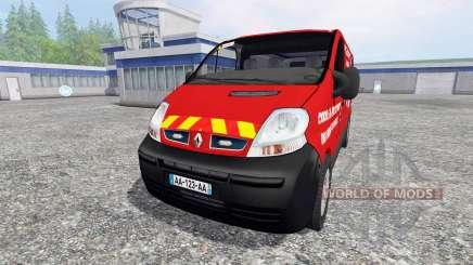 Renault Trafic VTU v3.0 pour Farming Simulator 2015