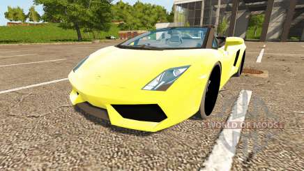 Lamborghini Gallardo Spyder für Farming Simulator 2017