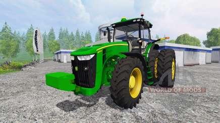 John Deere 8370R v4.0 für Farming Simulator 2015
