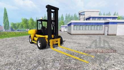 Komatsu EX50 v1.85 pour Farming Simulator 2015