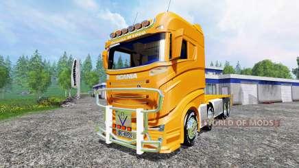 Scania R1000 [container truck] für Farming Simulator 2015