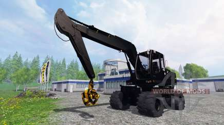 Liebherr A900C [black edition] pour Farming Simulator 2015