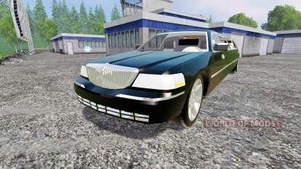 Lincoln Town Car Limousine für Farming Simulator 2015