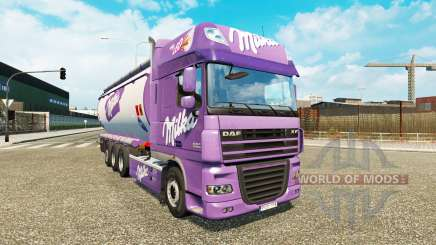 DAF XF Tandem pour Euro Truck Simulator 2