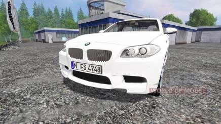 BMW M5 (F10) 2011 pour Farming Simulator 2015