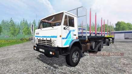 KamAZ-53212 [Holz] für Farming Simulator 2015