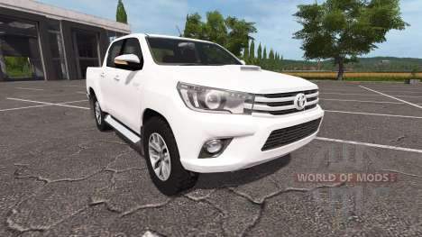 Toyota Hilux Double Cab pour Farming Simulator 2017