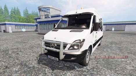 Mercedes-Benz Sprinter [service] pour Farming Simulator 2015