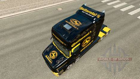 Haut Continental für LKW Scania T für Euro Truck Simulator 2