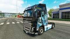 Die Haut ist Sub-Zero auf der Volvo trucks für Euro Truck Simulator 2
