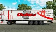 Ducs de Transport de la peau pour les remorques pour Euro Truck Simulator 2
