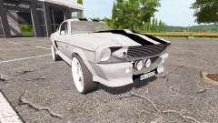 Ford Mustang Shelby GT500 Eleanor v1.1 für Farming Simulator 2017