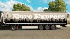 Euro Express de la peau pour les remorques pour Euro Truck Simulator 2