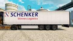 Haut Schenker Stinnes Logistics für Anhänger für Euro Truck Simulator 2