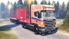 Scania R620 v2.0 für Spin Tires