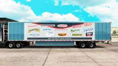 Skin Force Heinz extended trailer pour American Truck Simulator