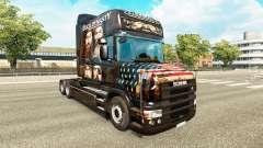 Die Haut der Ente-Dynastie für LKW Scania T für Euro Truck Simulator 2