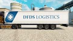 DFDS Logistics Haut für Anhänger für Euro Truck Simulator 2