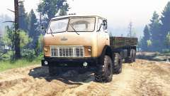 MAZ-515Р 8x8 v2.0 pour Spin Tires