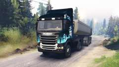 Scania R730 2x2 pour Spin Tires