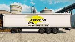 Onca Transportes Haut für Anhänger für Euro Truck Simulator 2