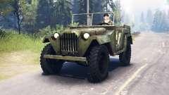 Der GAZ-67 1943 für Spin Tires
