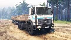 MAZ-6317 pour Spin Tires