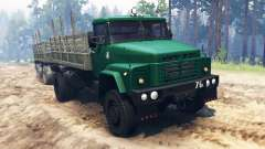 Kraz-260 4x4 pour Spin Tires