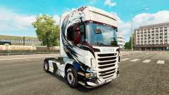 Haut Exclusivo auf Zugmaschine Scania für Euro Truck Simulator 2