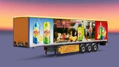 Haut von Ursus Kühler für Anhänger für Euro Truck Simulator 2