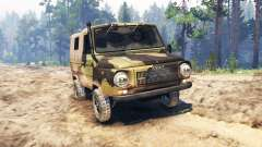 LuAZ-969М Volyn pour Spin Tires