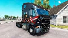 Haut Uncle Sam auf dem LKW Freightliner Argosy für American Truck Simulator