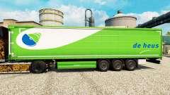 La peau De Heus pour les remorques pour Euro Truck Simulator 2