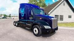 Mystique de la peau pour le camion Peterbilt 579 pour American Truck Simulator