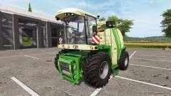 Krone BiG X 1100 bunker capacity für Farming Simulator 2017