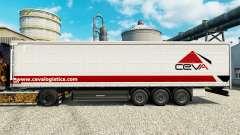 Ceva Logistics de la peau pour les remorques pour Euro Truck Simulator 2