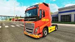 Les métiers à tisser Almelo de la peau pour Volvo camion pour Euro Truck Simulator 2