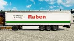 Raben de la peau pour les remorques pour Euro Truck Simulator 2