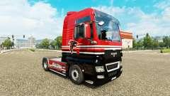 Die Haut der NFC South für die Zugmaschine MANN für Euro Truck Simulator 2