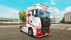Ducs de Transport de la peau pour Scania camion R700 pour Euro Truck Simulator 2