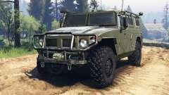 GAZ-2330 Tiger v2.0 pour Spin Tires