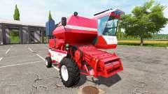 Rostselmash SK-5МЭ-1 Niva Effet rouge v1.1 pour Farming Simulator 2017