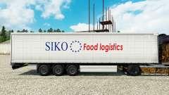 Haut Siko Food Logistics für Anhänger für Euro Truck Simulator 2