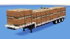 Bas de balayage avec les charges de la construction v1.1 pour American Truck Simulator