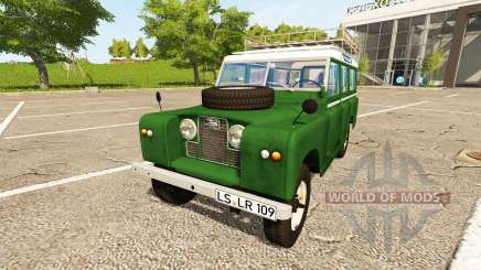 Land Rover Series IIa Station Wagon 1965 pour Farming Simulator 2017