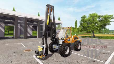 Sampo Rosenlew HR46X full cranecontrols v1.1 für Farming Simulator 2017
