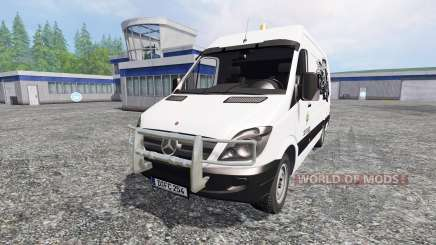 Mercedes-Benz Sprinter [service] pour Farming Simulator 2015