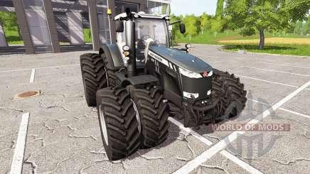 Massey Ferguson 8737 black edition für Farming Simulator 2017