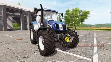 New Holland T6.160 blue power für Farming Simulator 2017