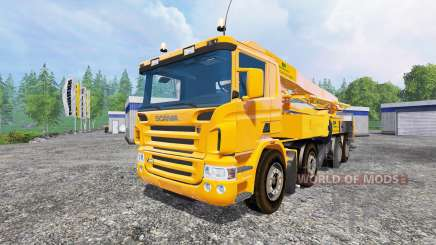 Scania P420 [concrete pump] für Farming Simulator 2015